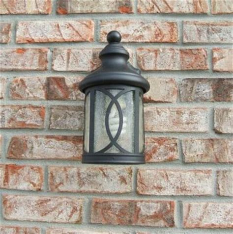 exterior lights and your other fixtures replaced