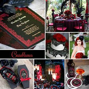 wedding inspiration casablanca goth inspired evermine With gothic inspired wedding invitations
