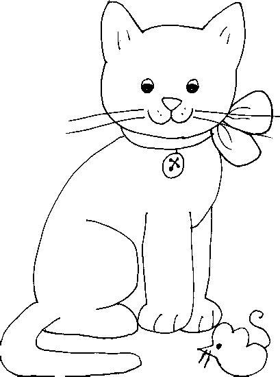 gato  colorear gatos desen