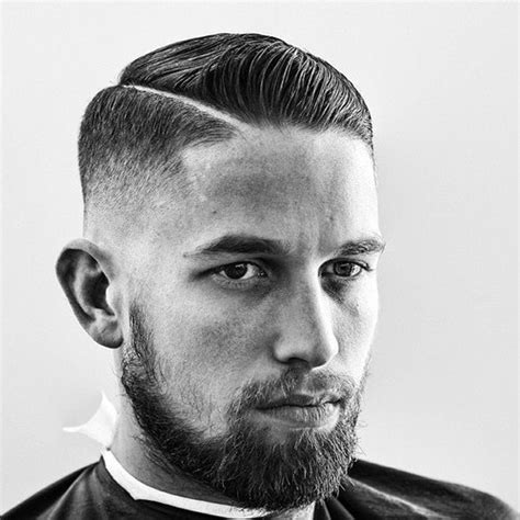 comb  haircut  men  classic masculine hairstyles