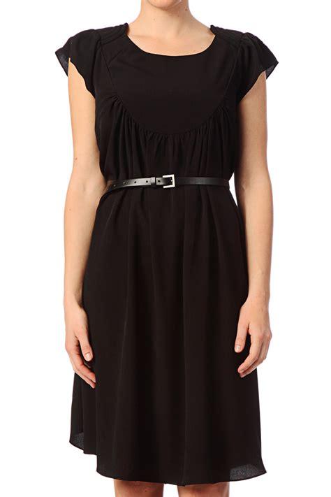 dress xiena numph trapezium dress 7114876 xenia in black lyst