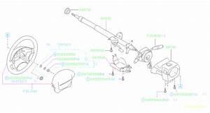 2002 Subaru Forester Steering Column Bushing  Wheel