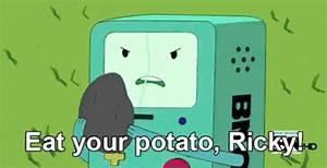 Eat It GIF - Potato Potatoes - Discover & Share GIFs