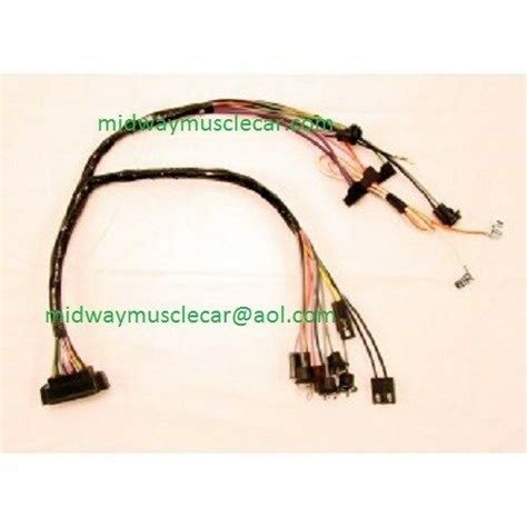 Console Wiring Harness Manaul Trans Gauges
