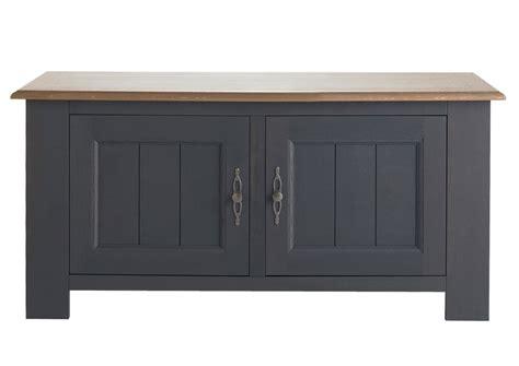 poignees meubles cuisine acheter votre meuble télé moderne bicolor chêne gris et bois avec 2 portes chez simeuble