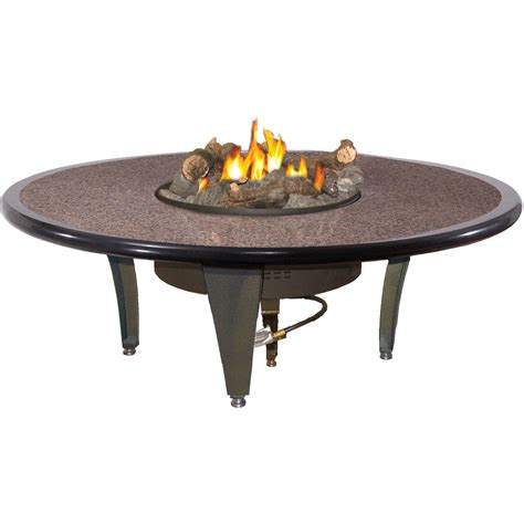 outdoor gas fireplace table peterson outdoor cfyre 54 inch propane gas manual