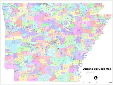 map zip code map