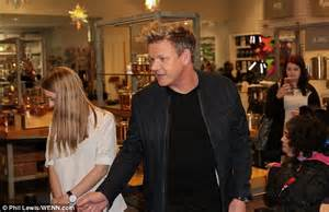 Tanned Gordon Ramsay Sports An Incredibly Smooth