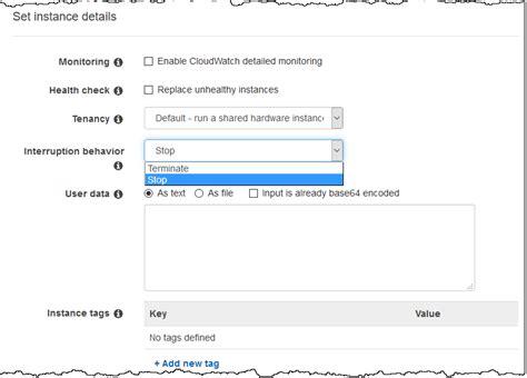 new stop resume workloads on ec2 spot instances noise