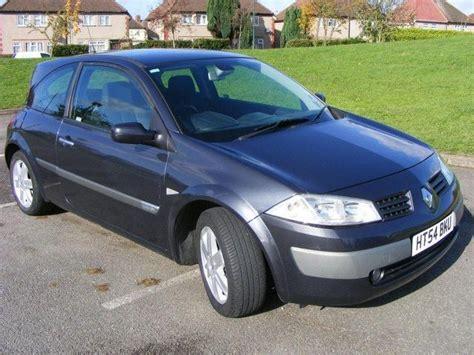renault megane 2005 used 2005 renault megane hatchback grey edition 1 4