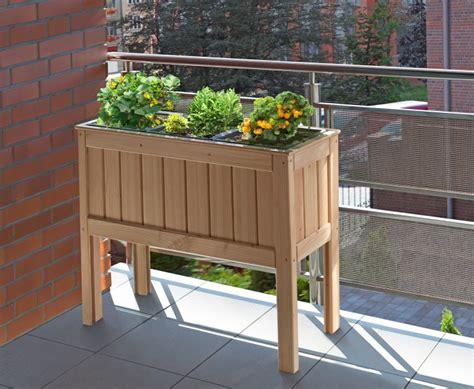 Hochbeet Für Den Balkon by Edle Hochbeete Aus Holz Kaufen Feliwa