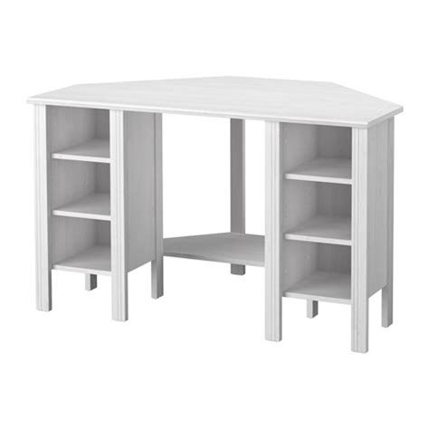 bureau ikea blanc brusali bureau d 39 angle ikea