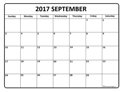 calendar template september september 2017 calendar 56 templates of 2017 printable calendars