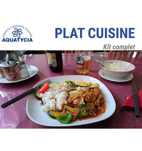 livraison plat cuisiné analyse aliment plat cuisiné aquatycia sas