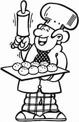 Boulanger Baker Coloriage Coloring Boulangerie Patisserie Imprimer Dessin Colorier Pages Dessins Printable Getcolorings sketch template