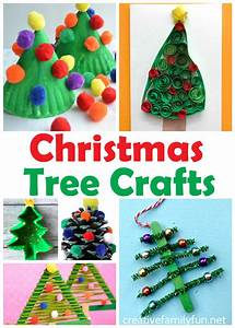 Christmas, Tree, Crafts, For, Kids