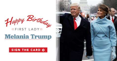 Melania Trump's Birthday Message For Donald Is Pretty Fitting, & I'm Here For It