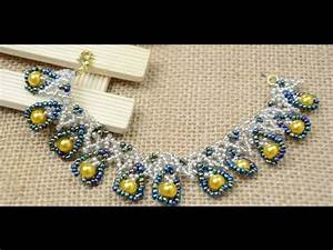 Comment Faire Un Bracelet En Perle : vid o tutoriel faire un bracelet joli avec des perles de rocaille youtube ~ Melissatoandfro.com Idées de Décoration