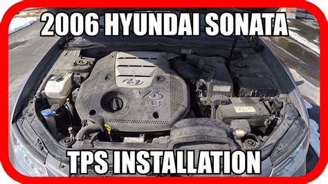 2006 Hyundai Sonata V6 Throttle Position Sensor - YouTube