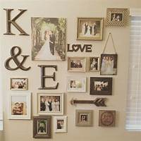 picture frame collage ideas My gallery wall of wedding photos | My home and it's decor ...