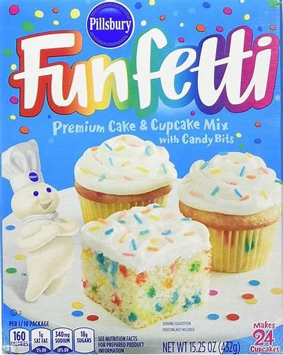 Cake Pillsbury Mix Funfetti Mixes Cupcake 432g