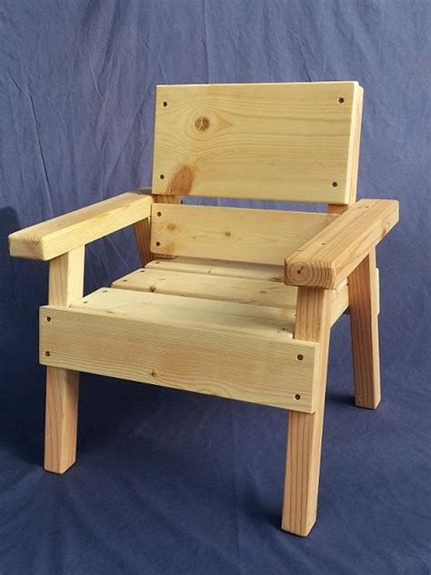 diy project kids solid wood chair toddler