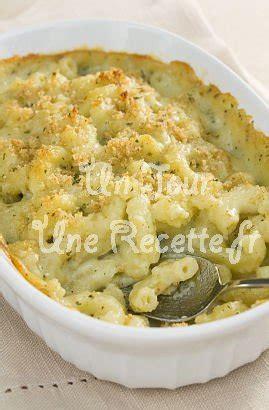 gratin de pates aux fromages recette facile  jour une