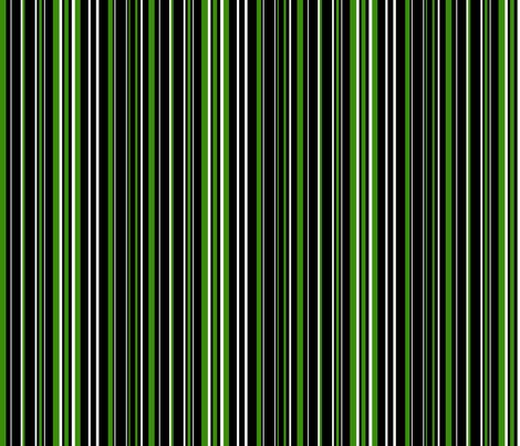 green and black stripes black apple green and white barcode stripes fabric 3953