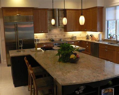 shaped kitchen islands t shape kitchen island design pictures remodel decor