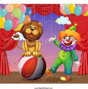 Royalty Free Stock Big Cat Designs of Circus Animals