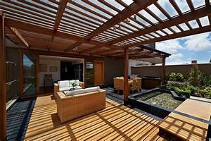 Sonnenrollo Für Terrasse : pergola f r die terrasse selber bauen ratgeber haus garten ~ Frokenaadalensverden.com Haus und Dekorationen