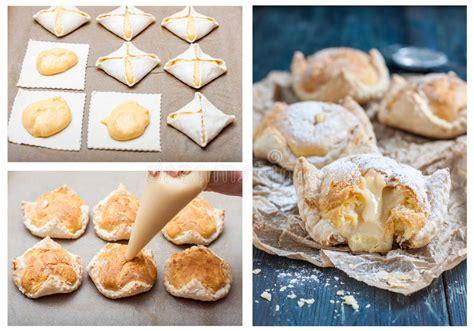 recette avec pate feuilletee dessert recette pour le g 226 teau de la p 226 te feuillet 233 e et de la p 226 tisserie de choux avec la cr 232 me anglaise
