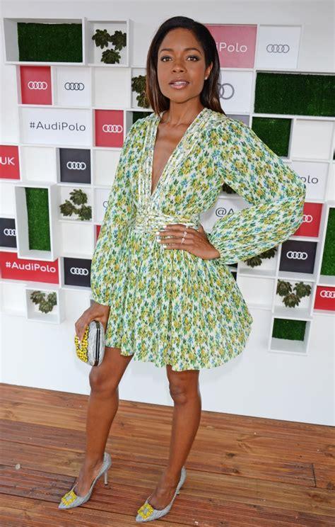 Naomie Harris | Celebrities at the Audi Polo Challenge ...