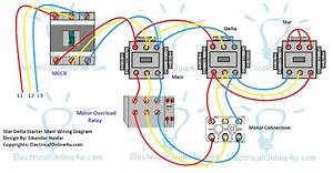 Star Delta Starter Wiring Diagram 3 Phase