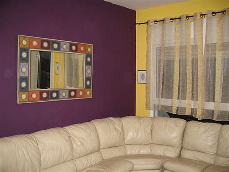wall colour combination and