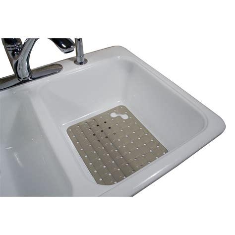 rubbermaid kitchen sink protectors rubbermaid large white sink mat home kitchen kitchen
