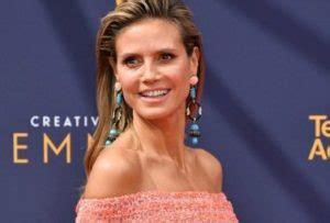 Heidi Klum Height Age Husband Biography Worth