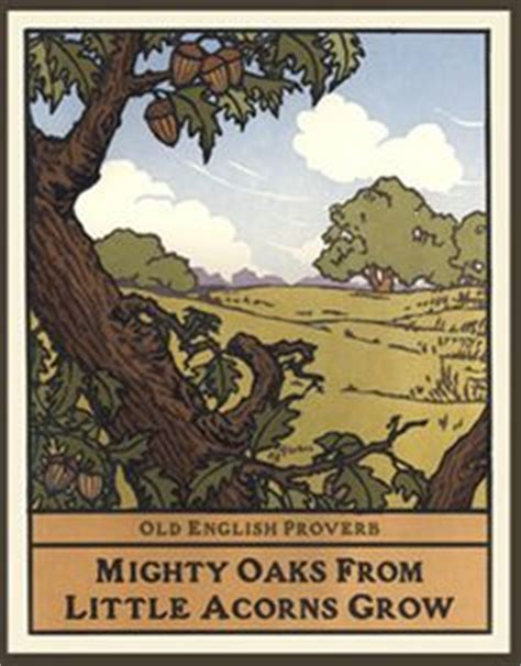 mighty oaks from acorns grow display banner along the hedgerow west block prints you had me bungalow just