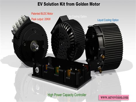 20kw Electric Motor by Electric Car