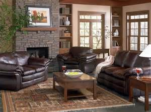 leather livingroom furniture brown leather living room ideas get furnitures for home