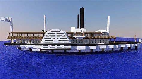 Mt Washington Boat by Mt Washington River Boat 1 6 Minecraft Project