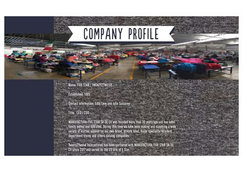 Car Service Company by Company Profile Twenty2twelve