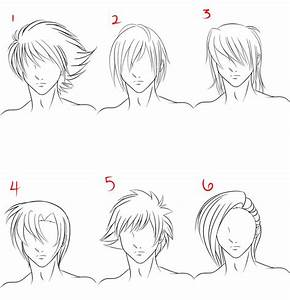 Anime Male Hair Style 1 by RuuRuu-Chan on DeviantArt