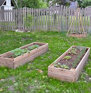 Diy Raised Garden Bed  And An Easy Soil Mixture Blend To