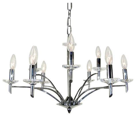 classic lighting helsinki contemporary chandelier chrome