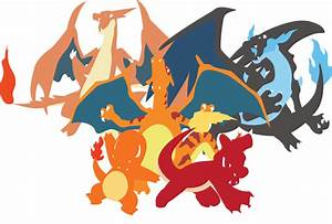 Charizard X Y Charmeleon And Charmander By Andie200 On