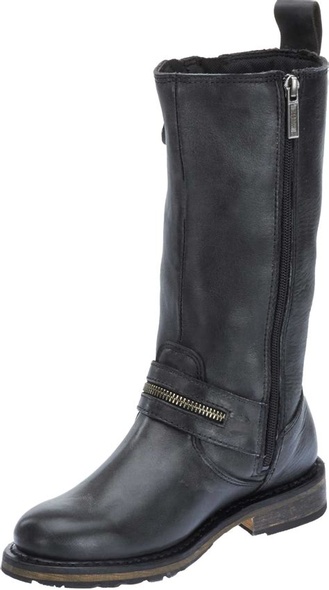 motorcycle in boots harley davidson women 39 s sackett 10 75 in leather