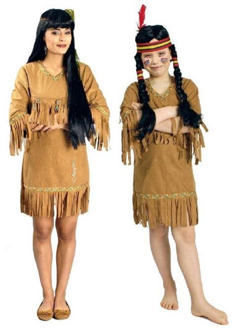 indianer indianerin kost 252 m damen kleid herr kinder junge