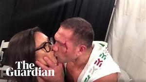 Boxer Kubrat Pulev Kisses Female Reporter On Lips During