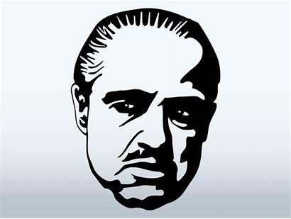 Clip Godfather Mafia Vector Crime Clipart Organized
